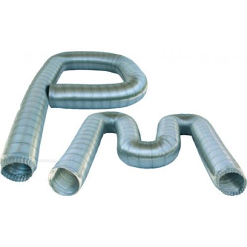 Tubo flessibile alluminio naturale for Scaldacqua flessibile a tubi di rame